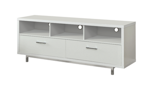 2-Drawer Rectangular TV Stand