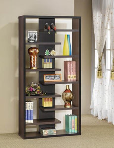 Staggered Shelf Bookcase