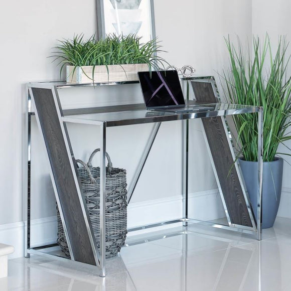 Alamosa Chrome Writing Desk
