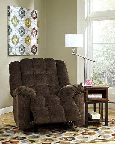 Power Rocker Recliner-Cocoa