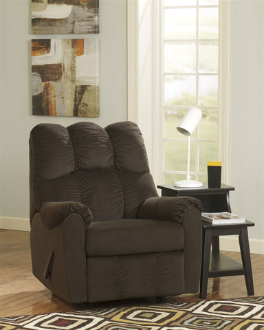 Raulo Rocker Recliner - Chocolate