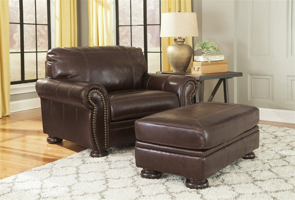 Banner Oversized Accent Ottoman