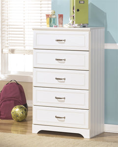 Lulu Youth Five Drawer Chest