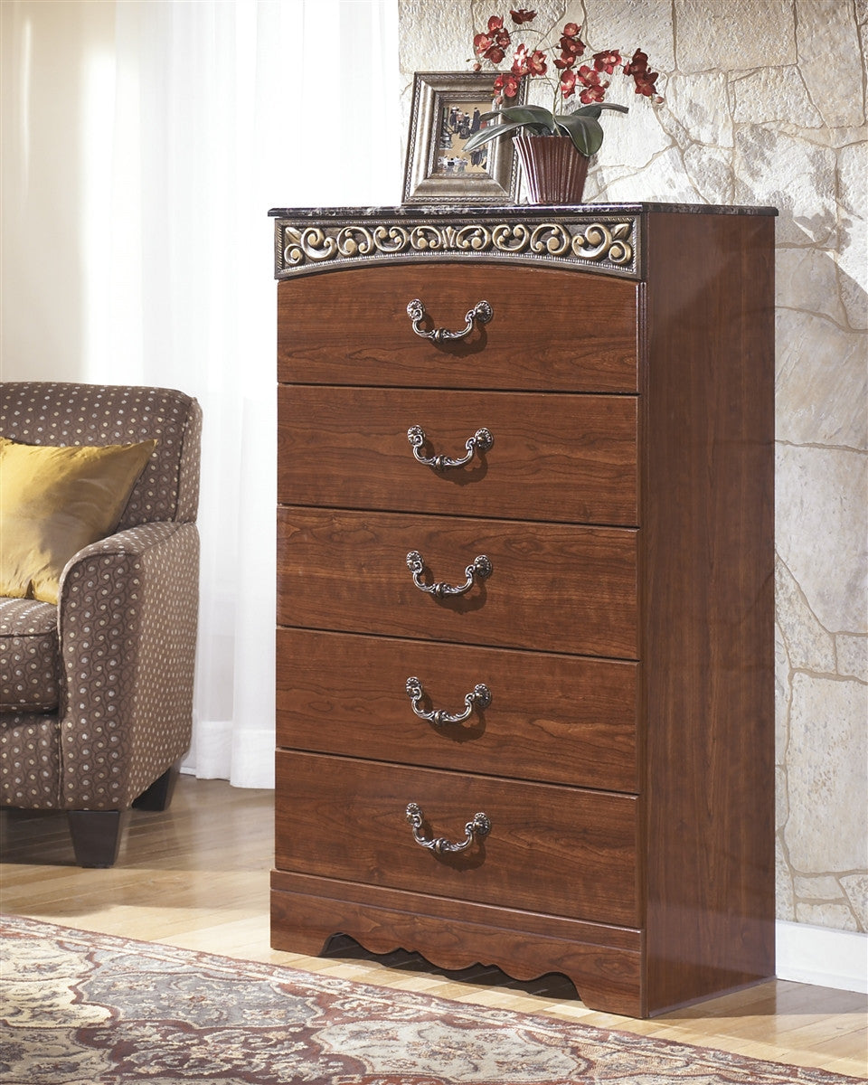 Fairbrooks Estate Five Drawer Chest