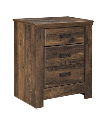Quinden Two Drawer Night Stand