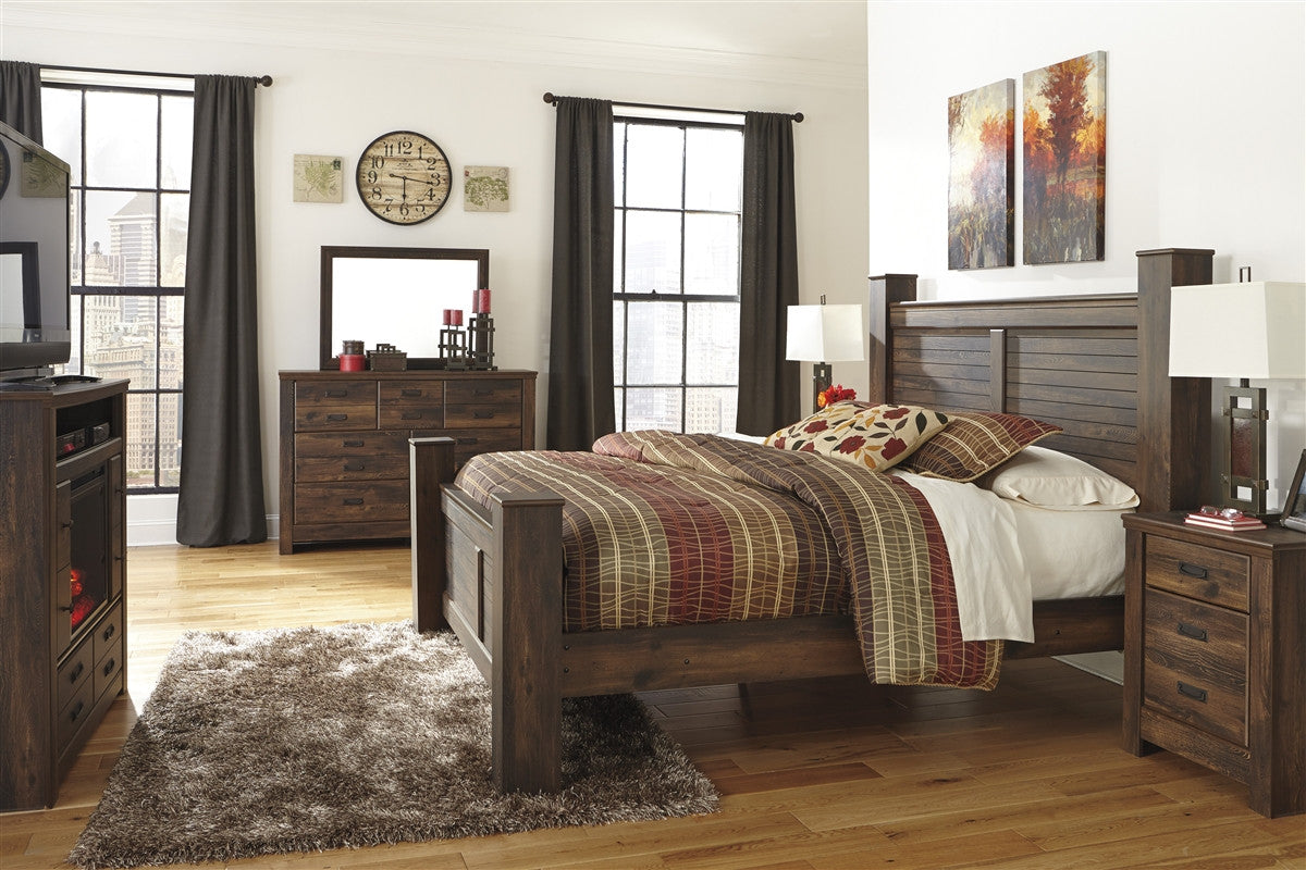 Quinden 5pc King Bedroom Set