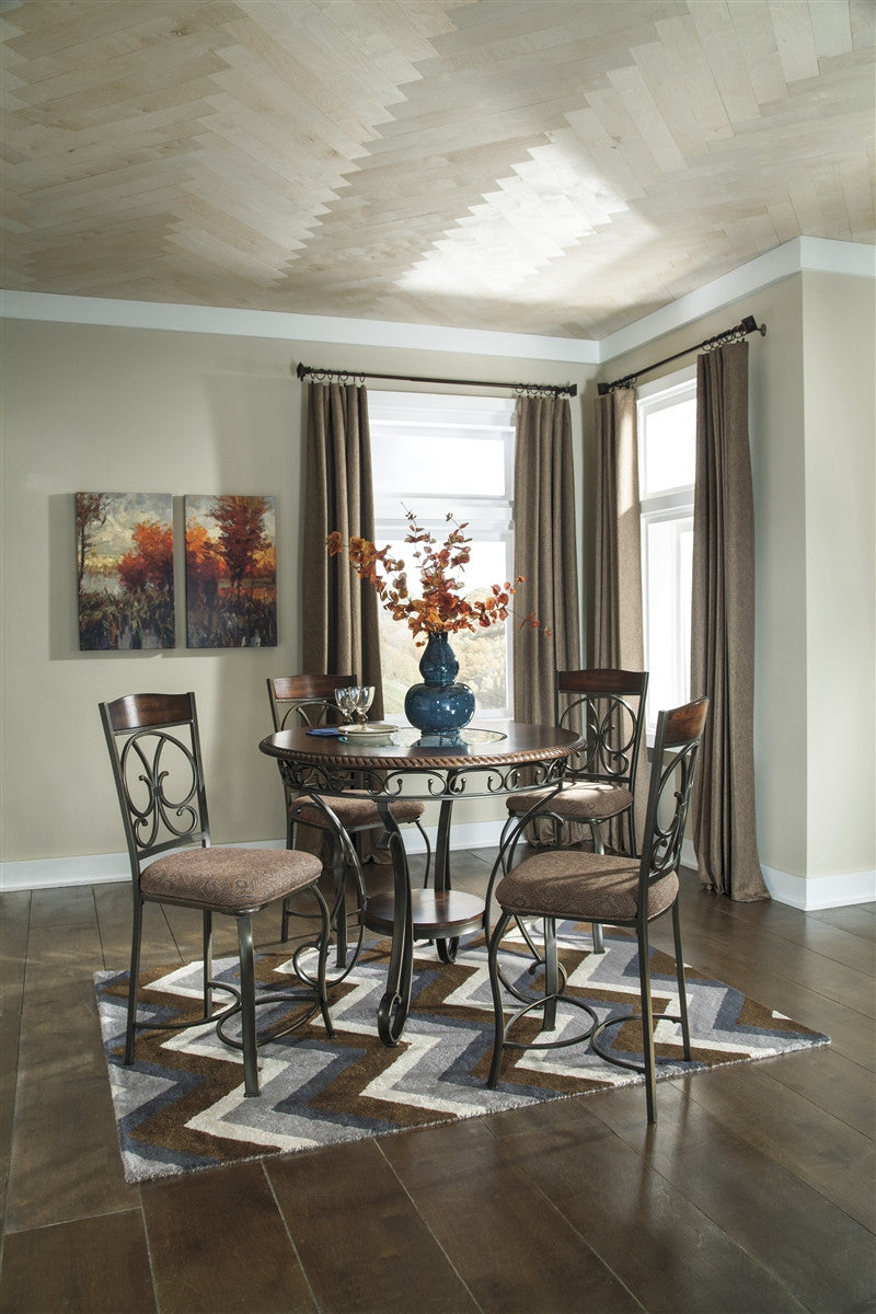 Glambrey 5pc Counter Height Dining Set