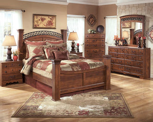 Timberline 5pc Poster Bedroom Set