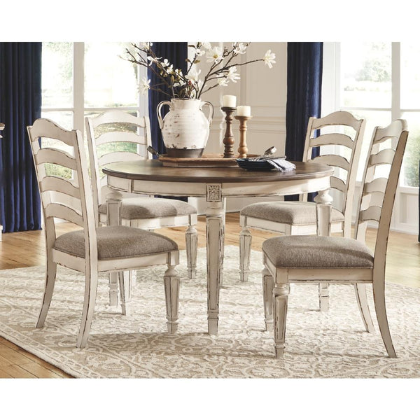 Ashley Realyn 5pc Dining Room Set