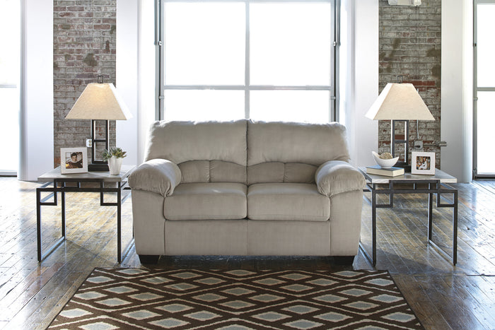 Ashley Dailey Plush Loveseat