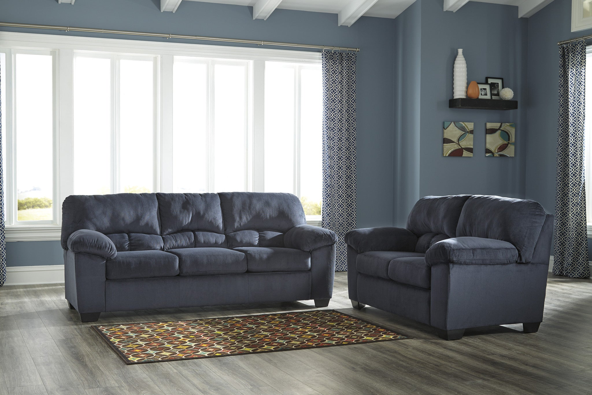 Ashley Dailey 2 Piece Living Room Set ...
