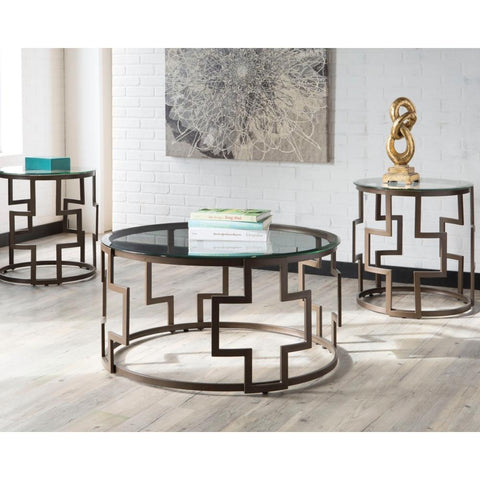Ashley Frostine Table Set