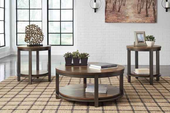 Roybeck 3pc Table Set