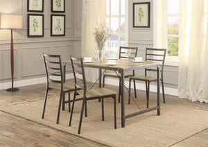 Rumi 5pc Dining Set