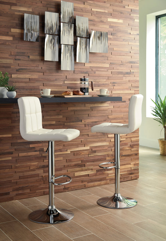 White Bellatier Bar Stool