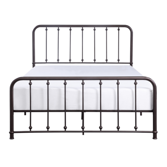 Larkspur Metal Queen Bed