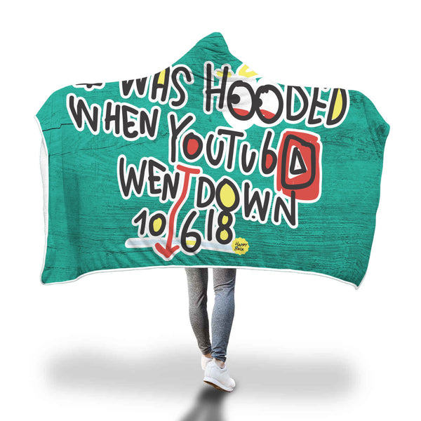 Hooded blanket - Happyboca