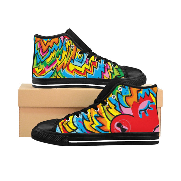 Men's High-top Sneakers - Happyboca