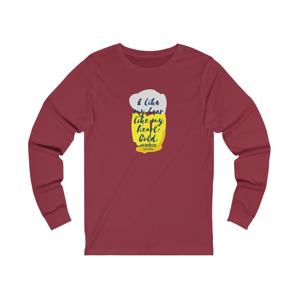 Unisex Jersey Long Sleeve Tee - Happyboca