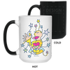 15 Oz. Color Changing Mug - Happyboca