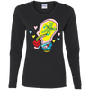 Ladies' Long Sleeve Tee - Happyboca