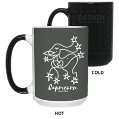 CAPRICORN - 15 oz. Color Changing Mug - Happyboca