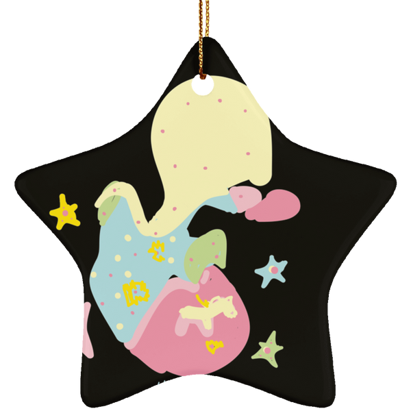 SUBORNS Ceramic Star Ornament - Happyboca