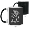 GEMINI - 11 oz. Color Changing Mug - Happyboca