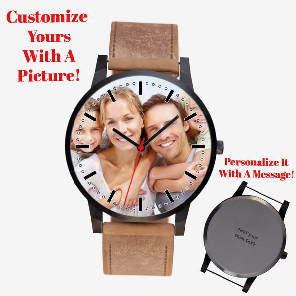 Custom Family Watch (Insert Your Fave Picture) - Happyboca