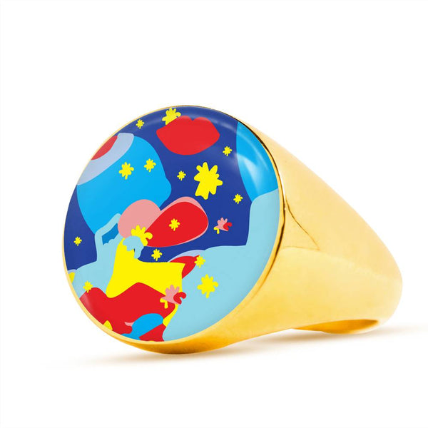 Cool Ring (Silver or Gold) - Happyboca