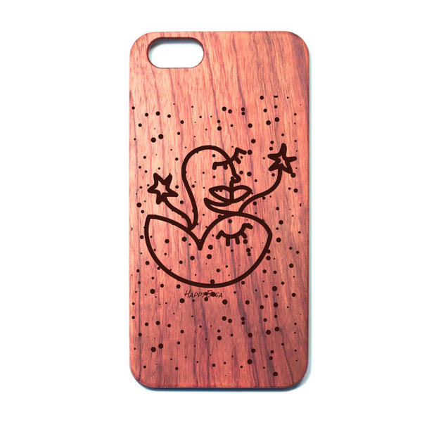 Wooden Phone Case - Happyboca