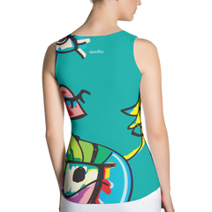 Sublimation Cut & Sew Tank Top - Happyboca