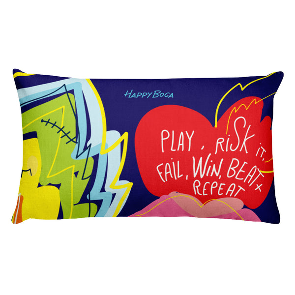 Rectangular Pillow - Happyboca