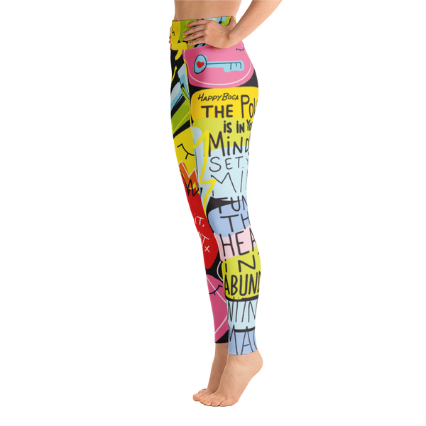 Yoga Leggings - Happyboca