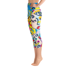 Yoga Capri Leggings - Happyboca