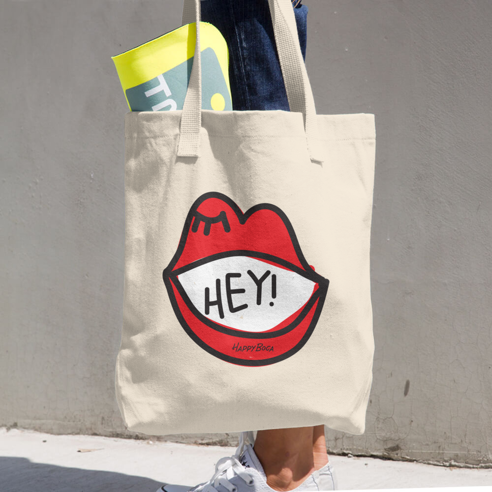 Cotton Tote Bag - Happyboca