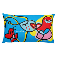 M&J Rectangular Pillow - Happyboca