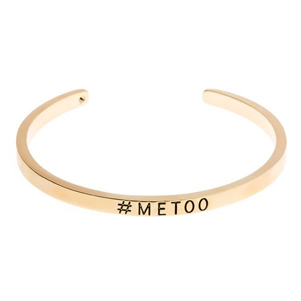 #MeToo Cuff Bangle - Women Empowerment - Happyboca