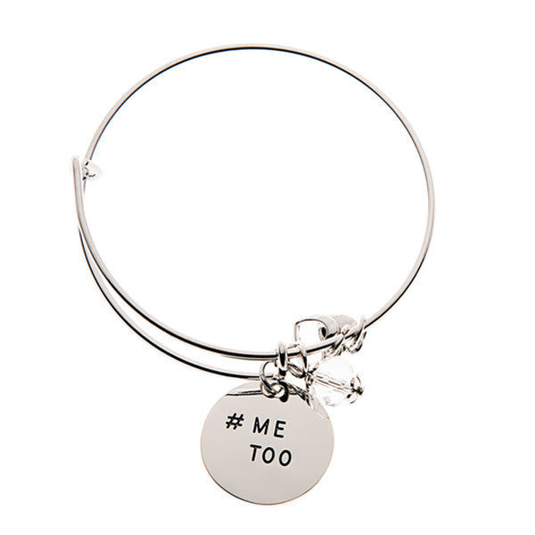 #MeToo Charm Bangle - Women Empowerment - Happyboca