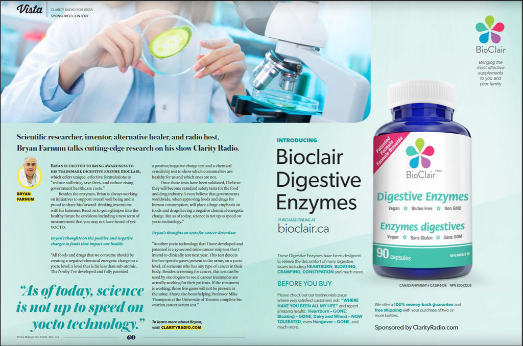 Introducing BioClair Digestive Enzymes