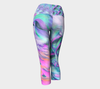 Phoenix Glowing, Capri Leggings