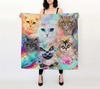 Crazy Cat Lady Scarf, 36x36