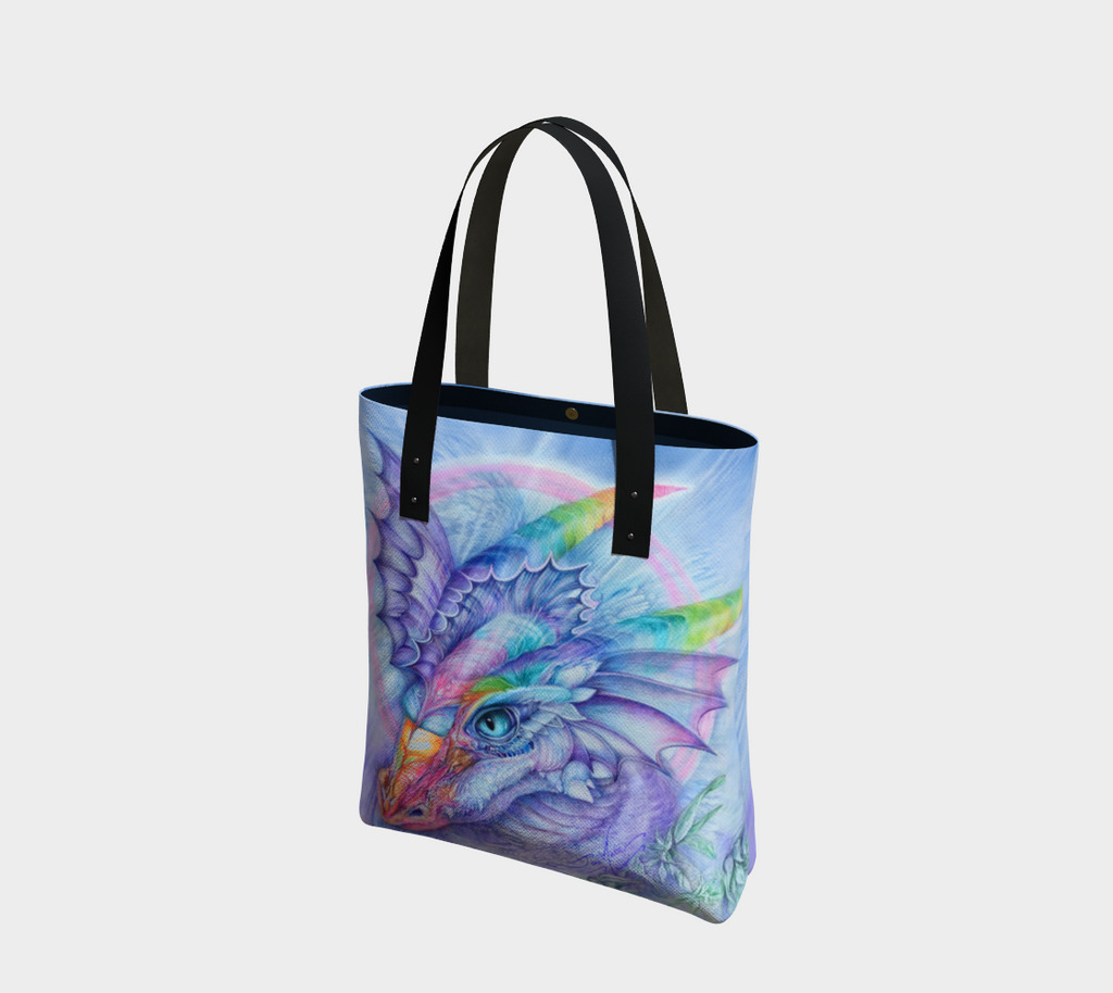 Dragon, Protector of Peace, Tote Bag