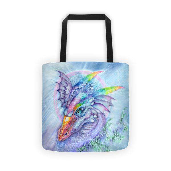 Fantasy Dragon Tote Bag