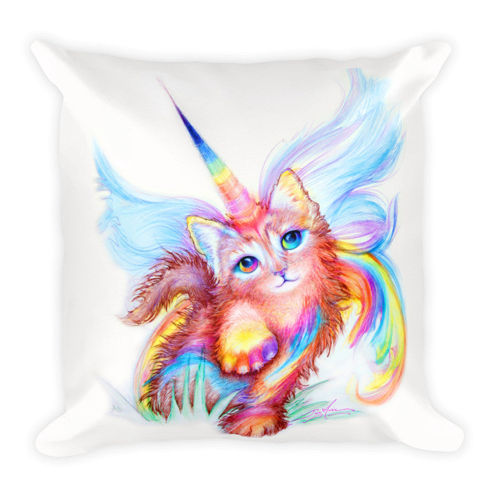 unikitty square throw pillow