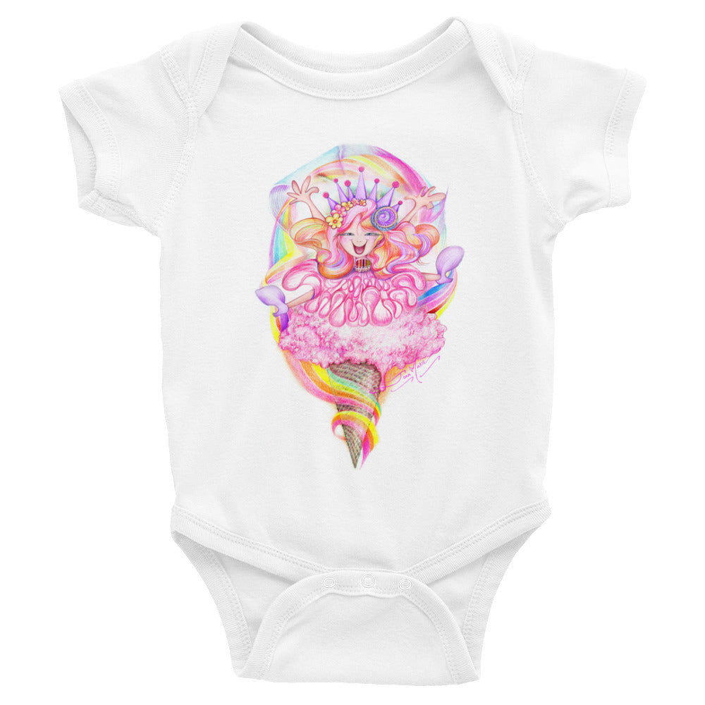 Happeee Girl!!! Infant Bodysuit