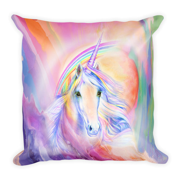 UniKitty/Unicorn Lover Square Pillow