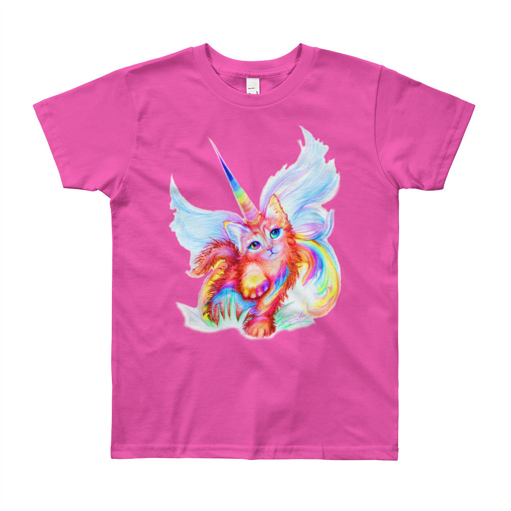 Unikitty Cutie!! For Ages 8-12, Youth Short Sleeve T-Shirt