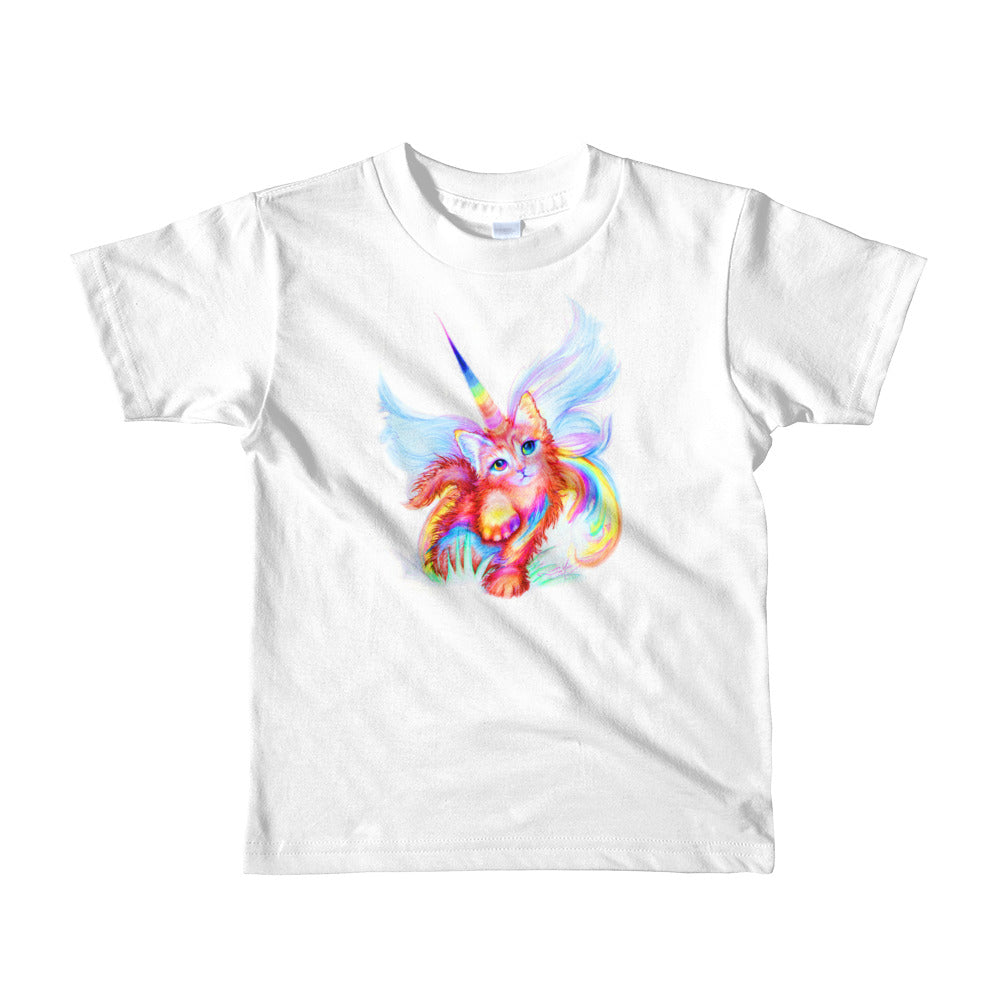 Unikitty Cutie!! for ages 2-6, Short sleeve kids t-shirt