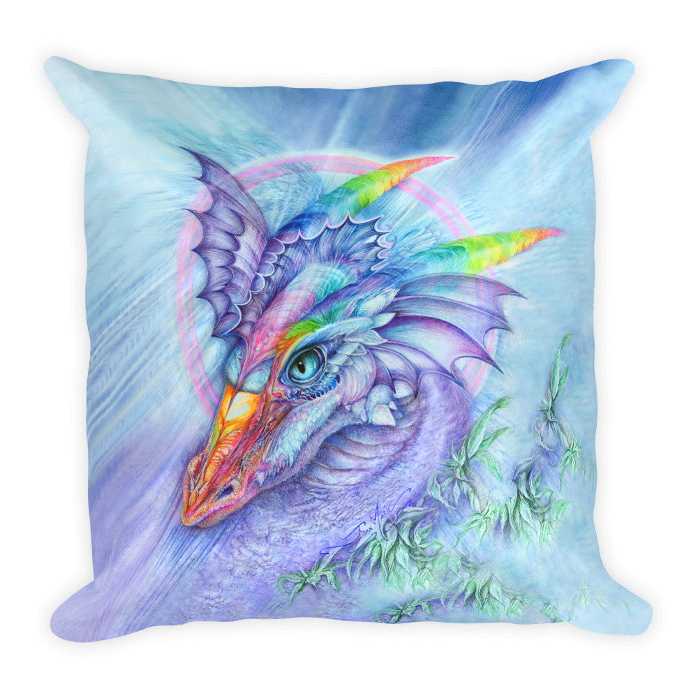Fantasty Dragon Throw Pillow